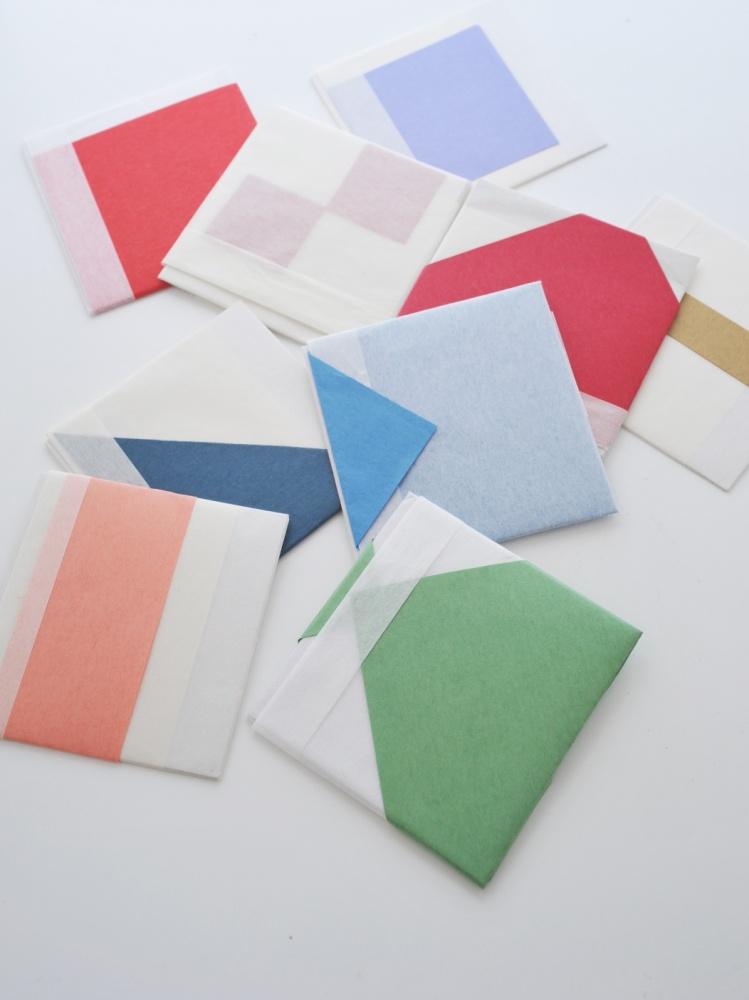 折形ワークショップ『半紙と折り紙で折る折形』