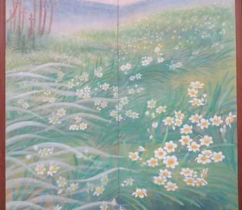 第2回日本画と表装姉妹展