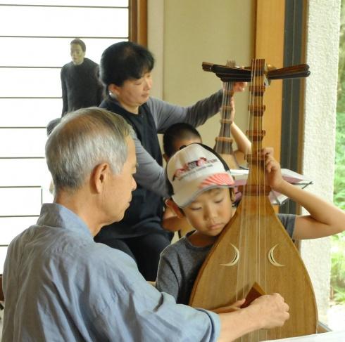 伝統文化体験 琵琶の巻