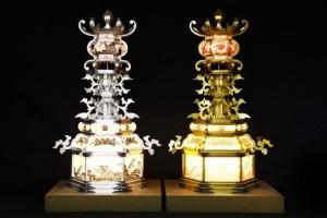 山鹿灯籠(古式台灯)